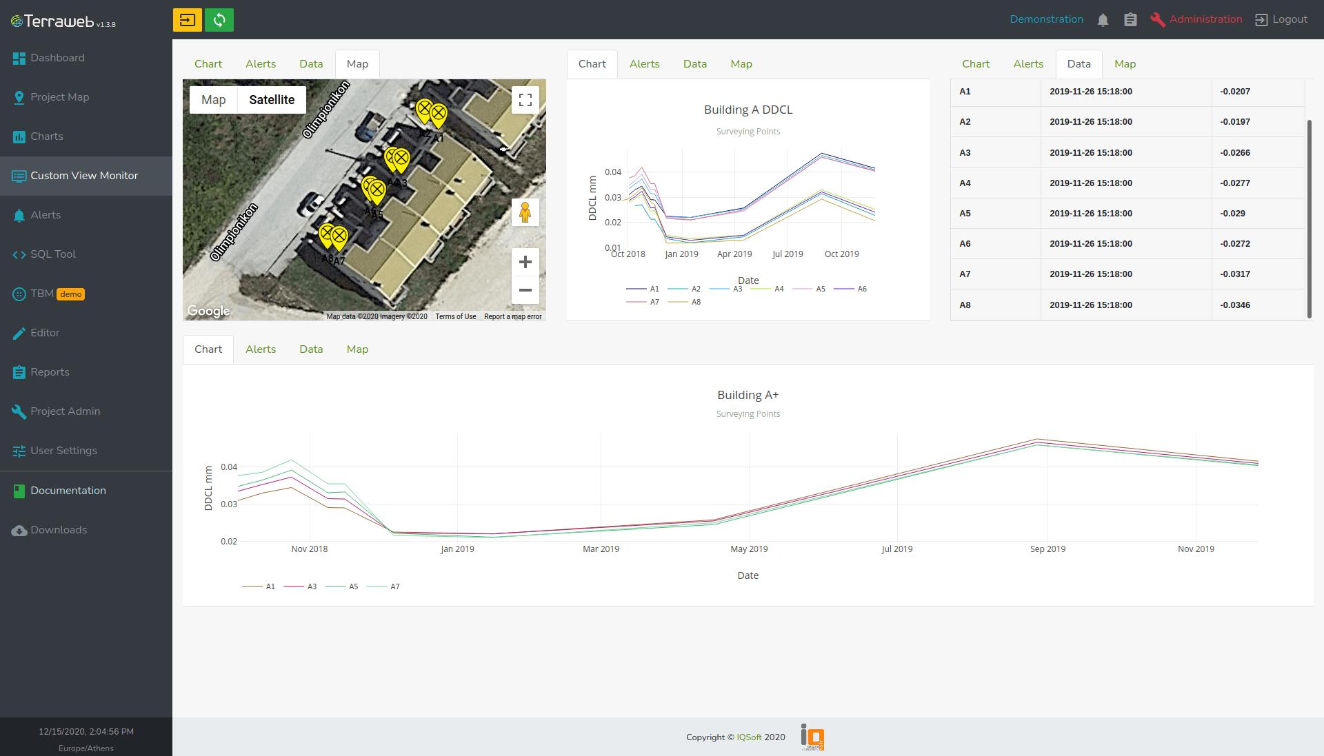Terraweb Custom View Monitor - IQSoft