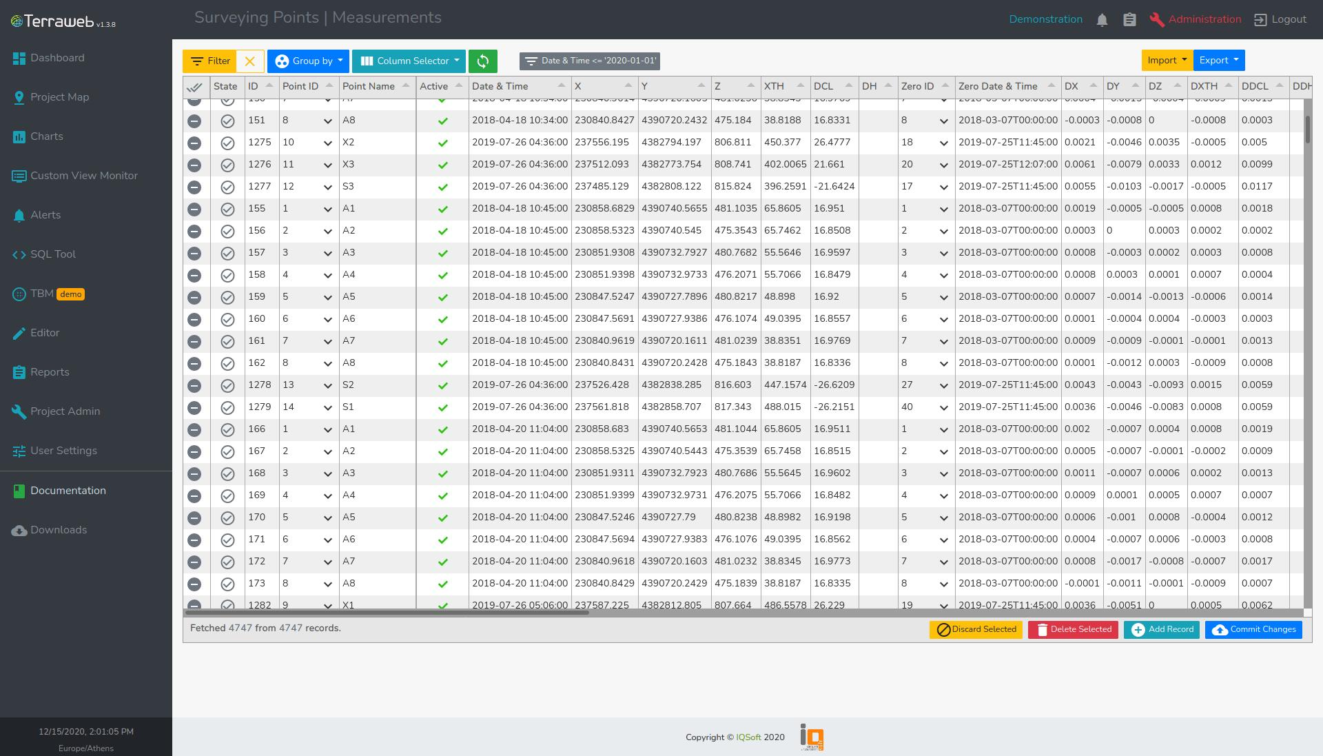 Terraweb Editor - IQSoft