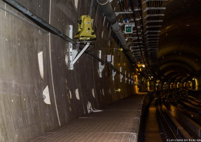 Total Station In Gold Line Metro - Doha