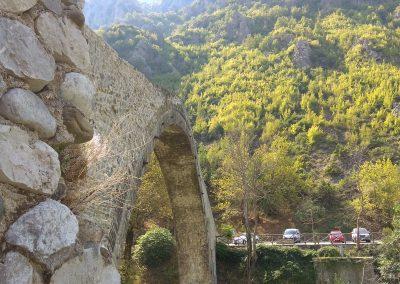 Konitsa Bridge side view